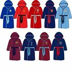 Official Football Dressing Gown Robes Premier League