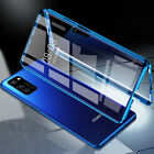Magnetic Cover for Huawei P40 Pro Lite P30 P20 P Smart case tempered glass