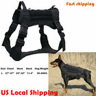 Tactical Dog Harness with Handle No-pull Large Military Dog Vest Working Dog