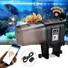 Adjustable Automatic Fish Food Feeder Dispenser Aquarium Tank Digital LCD Timer