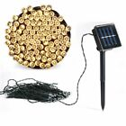 50 100 200 LED Solar Power String Lights Fairy Lamp Outdoor Garden Party Wedding