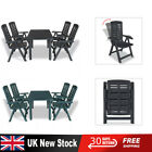 Garden Furniture Set Outdoor Dining Table Chairs 5pcs Conservatory Patio Plastic