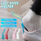 2/4Pcs Unisex Lazy Shoe Helper Handled Shoe Horn Easy on&Off Lifting Helper Gift