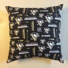 INCREDIBLE 15 x 15 NHL HOCKEY PITTSBURGH PENGUINS COMPLETE PILLOWS - 7 STYLES $25.98 USD on eBay