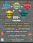 Pokemon Sword and Shield All 710 Galar and Isle of Armor Pokedex Pokemon Home