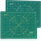 "A3:18""X12"" / A4:12""X9"" Professional Self-healing double-sided cutting mat"
