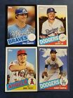2020 Topps Series 1 1985 35th Anniversary Inserts Blue Black U Pick Trout Acuna
