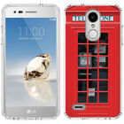 for LG Tribute Dynasty/Empire(Clear) Slim Flexible TPU Skin Phone Case Cover-H1