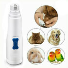 Electric Pet Nail Grinder Safe Claw Grooming Trimmer Dog Cat Paws Clipper Tools-