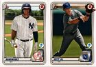 2020 BOWMAN 1ST FIRST EDITION BASE PROSPECT RC SINGLES #1-150 - YOU PICK FOR SETBaseball Cards - 213