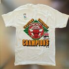 "Chicago Bulls Men's VINTAGE ""Eastern Conference Champions 1991"" T-Shirt - White on eBay"