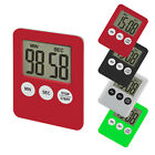 LCD Digital Kitchen Timer Count Up Down Cooking Alarm Magnetic Clock Fridge Beep