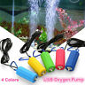 Mini USB Aquarium Fish Tank Oxygen Air Pump Mute Energy Save Compressor Portable