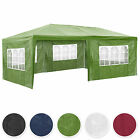 Gazebo for Garden Party Camping Festivals Beer Tent + removable sides 3x6m...