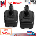 18V 5.0Ah Lithium-Ion Replace Battery for Dewalt 18 Volt XRP Battery Power Tool