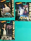 Hot Wheels STAR WARS 2015 Pop Culture Real Riders CHOICE, Shipped in a BOX!