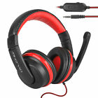 Wired Gaming Headset Stereo Sound With 3.5mm Jack For Laptop/Nintendo/Xbox/PC