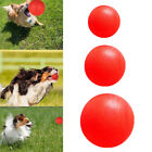 Pet Dog Toy Indestructible Solid Rubber Ball Training Chew Play Fetch Bite Toy