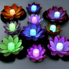 Luminous Lotus Floating Lights LED Colorful Changing Outdoor Christmas Light New