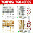 Jewelry Earring Making Kit Wire Necklace Repair Tools Craft Supplies Lot DIY Set