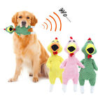 Squeaker Plush Durable Puppy Interactive Pet Toys Bite Toy Screaming Chicken