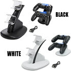 For PlayStation PS4 Dual Controller LED Charger Dock Station USB Charging Stand