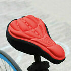 Bike Bicycle Silicone 3D Saddle Seat Cover Pad Padded Soft Cushion Comfort UK