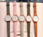 Women Simple Vintage  Small Dial Watch  image