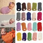 Newborn Child Baby Crochet Knit Wrap Cocoon Swaddle Photography Photo Props Wrap
