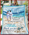 To My Wife - Wedding Anniversary - I had you and you had me Fleece Blanket