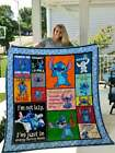 Lilo and Stitch - Ohana Means Family - 50 shades of Stitch - Super Soft Blanket