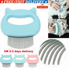 UK Pets Massage Shell Comb Grooming Cat Dog Hair Removal Shedding Cleaning Brush