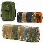 Multi-Purpose Poly Tool Holder, Tactical Molle EDC Pouch Gadget Belt Waist Bag