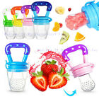 Baby Safe Feeding Pacifier Fresh Food Fruits Feeder Dummy Soother Weaning.Nipple