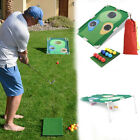 Outdoor Golf Training Aid Hitting Net Indoor Golf Practice Board Straw Mat