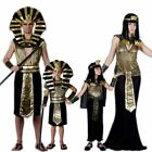 Egypt Pharaoh Cosplay Costumes Props Jumpsuit Kids Boys Girls Men Women Adults