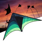 Large delta kite for kids and adults single line easy to fly kite handle incW SU