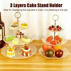 3 Tier Round Cake Stand Cupcake Rack Wedding Party Dessert Display Decor 2 SU