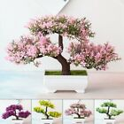 Fake Artificial Pot Plant Bonsai Potted Simulation Pine Tree Home/office Decor