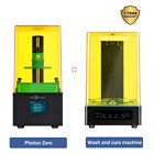 Anycubic 3D Printer Wash and Cure Machine + Photon / Zero LCD SLA 3D Printer UV