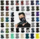 Внешний вид - Neck Gaiter Face Mask Bandana Covering Scarf Balaclava Headband with Loops Ear
