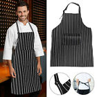 Cooking Apron For Men Women Kitchen Bib Aprons BBQ Baking Restaurant With Pocket