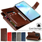 For Samsung Galaxy Note 20 Ultra Note 20 Case Magnetic Leather Card Wallet Cover