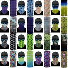 Tube Scarf Neck Face Mask Turban Kids Outdoor Cycling Sun Protection Face Cover