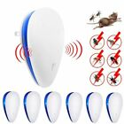 6Pcs 2020 Ultrasonic Plug In Pest Repeller Rat Mouse Mice Insect Fly Mosquito UK