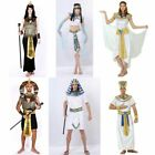 Unisex Halloween Costumes Ancient Egypt Egyptian Pharaoh King Queen Cosplay
