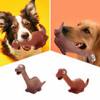 Pets Dog Puppy Chew Play Rubber Latex Dinosaur Squeaker Squeaky Sound Dog Toys