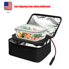 Personal Food Warmer Heating Lunch Box Electric Heater Cooker for 12V 24V Car US