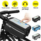 Waterproof MTB Mountain Cycling Bike Frame Front Tube Bag Bicycle Phone Holder