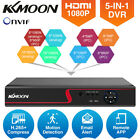 KKMOON 4/8/16CH H.265+ 2.0MP AHD DVR 5in1 Recorder for CCTV Security System Q8Q4